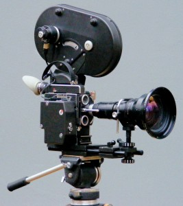Bolex H16 RX5 Camera with Angénieux 12-120mm f/2.2 H16 RX-Mount Lens and Angénieux 0.76x Retro-Zoom Conversion Lens. Photo: Flickr / eoopilot